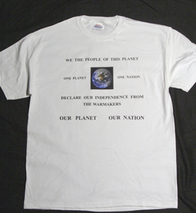 photo of T-shirt front